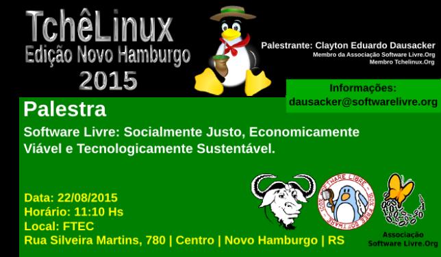 Convite Palestra Software Livre