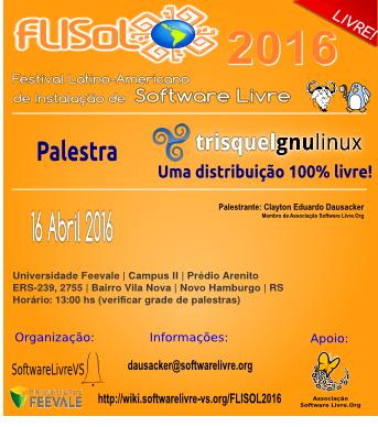 Palestra Trisquel FLISOL 2016